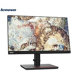 Màn Hình LCD Lenovo ThinkVision T22i-20 (61FEMAR6WW) | 21.5 inch Full HD IPS (1920 x 1080) LED Backlit 72% NTSC | VGA | Display Port | HDMI | USB 3.2 | Hàng Chính Hãng