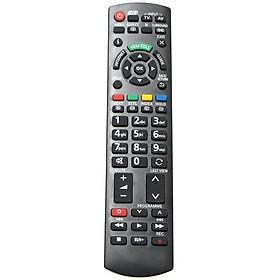 Điều Khiển Từ Xa Thay Thế 3D TV N2QAYB000659 NC Cho TV Panasonic - Phiên Bản Tiếng Anh - Đen