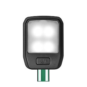 Đèn LED USB Đọc Sách DC5V 4 Cấp Độ Có Thể Uốn Cong - Đen (4 LED)