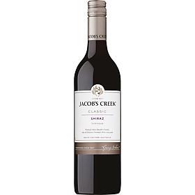Rượu vang đỏ Jacob's Creek Classic Shiraz 750ml 13-14.0% - Không hộp