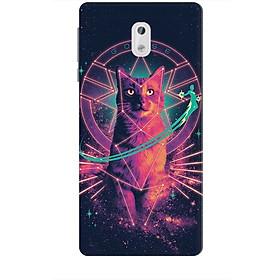 Ốp lưng dành cho điện thoại NOKIA 3 Mèo Phép Thuật