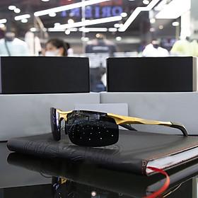 Kính Mát Nam Ben222 tròng Polazied đen chống chói chống tia UV thời trang cao cấp