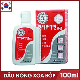 Dầu nóng Xoa Bóp Massage Hàn Quốc Antiphlamine 100ml - Đau nhứt massage cơ thể