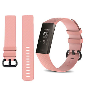for Fitbit Charge 3 Replacement Band Silicone Strap Sports Wristband