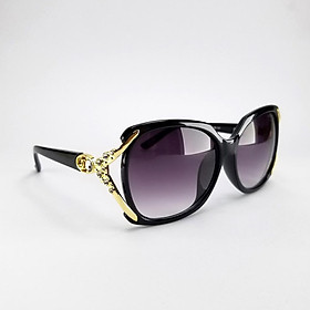 Mắt kính mát nữ DKY1739KH chống tia UV, gọng bản dày. Tặng kèm hộp đựng kính và khăn lau