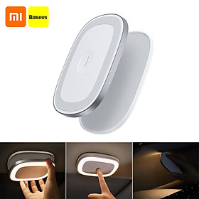 Youpin Baseus Vehicle Light Reading Lamp USB Rechargeable Magnetic LED Lamp Touch Sensor Night Light Car Ceiling Lamp