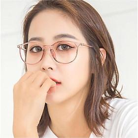 Kính gọng Mắt tròn KOREA nhựa dẻo
