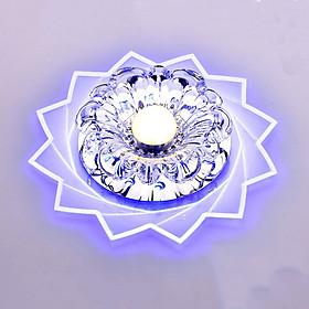 Đèn LED Pha Lê Hiện Đại Trang Trí Trần Nhà (20cm) (3W)