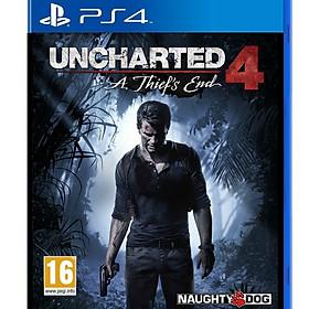 Đĩa Game Ps4: Uncharted 4_ A Thief's End - Hàng nhập khẩu