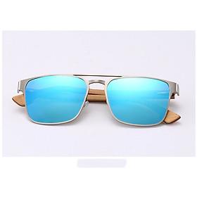 Kính mát Unisex thời trang chống nắng chống tia UV400 cao cấp Hu Wood GR8038 - Hàng Chính Hãng
