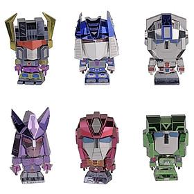 Đồ chơi lắp ghép mô hình kim loại MU Transformers mini - Jetfire, Hot Rod, Hound, Soundwave, Scorponok, Cyclonus