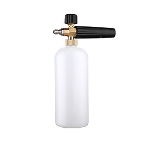 900ML Foam Cannon Lance with Standard Quick Connector for Pressure Washer Gun