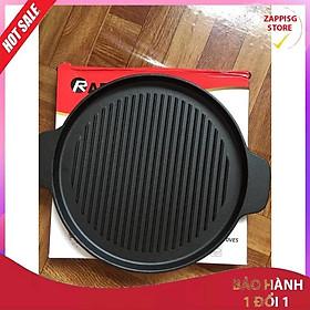 ️ Chảo nướng tròn gang Rapido size 24cm và 26cm