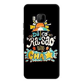 Ốp Lưng Dành Cho HTC One M9 - Mẫu 6