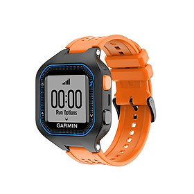 Men's Silicone Wristband Large Size Replacement Wristband for Garmin Forerunner 25