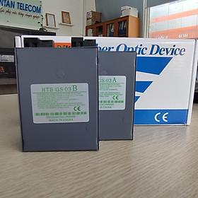 Bộ chuyển đổi quang điện 1000MB (1 Sợi quang) Netlink HTB-GS-03 AB (2 thiết bị)- Hàng Chính Hãng