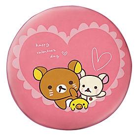 Hình đại diện sản phẩm Gối Ôm Tròn Rilakkuma Happy Valentine's Day - GOCT152