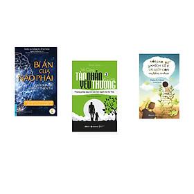 Combo 3 cuốn sách: Bí Ẩn Của Não Phải + Vô Cùng Tàn Nhẫn Vô Cùng Yêu Thương Tập 3 + Nói Sao Để Khích Lệ Và Giúp Con Trưởng Thành