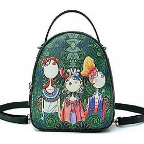 Balo mini nữ - balo cô gái - balo công chúa rừng xanh