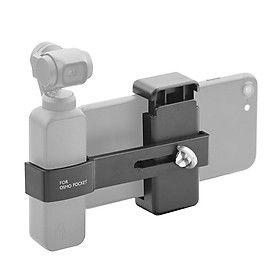 Portable Handheld Mobile Phone Holder Fixing Clip Extension Mount Bracket Stand Set for DJI OSMO Pocket Handheld Gimbal