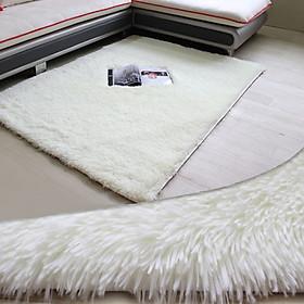 Thảm Trải Sàn Mềm Mại Chất Liệu Polyester Chống Trượt