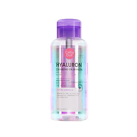 Nước tẩy trang pha dầu Cathy Doll Hyaluron Cleasing Oil in Water 500ml