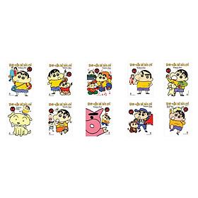 Combo Shin Cậu bé bút chì - Truyện Ngắn Tập 41 - 50 (Bộ 10 cuốn)