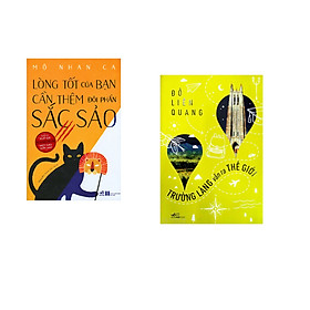 Combo 2 cuốn sách: Lòng tốt của bạn cần thêm đôi phần sắc sảo, tập 1 + Trường làng vẫn ra thế giới