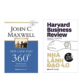 Combo Sách Kĩ Năng Kinh Doanh: Nhà Lãnh Đạo 4.+ Nhà Lãnh Đạo 360° (Tái Bản 2018)