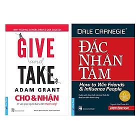 Combo Give And Take - Cho và Nhận (Tái Bản) + Đắc Nhân Tâm
