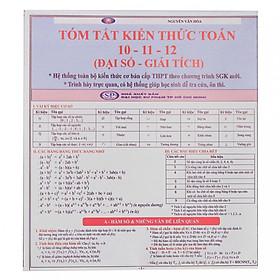 Tóm tắt kiến thức Toán 10- 11- 12 (Đại số - Giải tích)