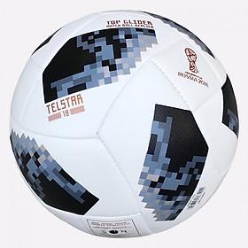 Quả bóng đá World Cup TELSTAR 2018 số 5 (Giao màu ngẫu nhiên) - tặng kim bơm bóng + lưới đựng bóng