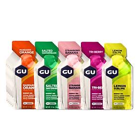 Gel Năng Lượng GU Energy - Mixed Box - Hộp 24 Gói (Vị Trái Cây) (Giao vị ngẫu nhiên)