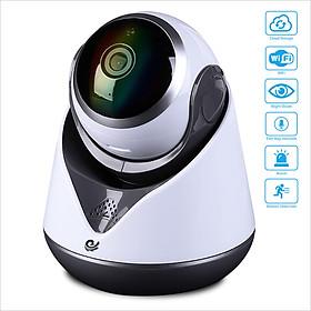 Camera Wifi CareCam 19Y-200 Độ Phân Giải 2.0Mpx Cho Hình Ảnh Cực Sắc Nét, Có Đèn Hồng Ngoại Quan Sát Ban Đêm, Hỗ Trợ Đàm Thoại 2 Chiều, Hỗ Trợ Cổng USB 4G Và Xoay Theo Chuyển Động - Chính Hãng
