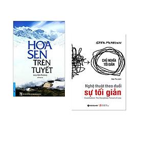 Combo 2 cuốn sách: Hoa Sen Trên Tuyết + Nghệ Thuật Theo Đuổi Sự Tối Giản