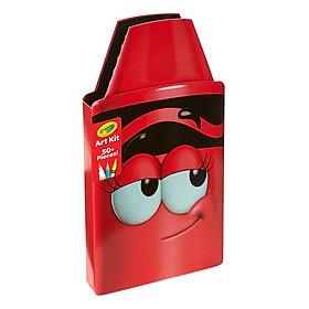 Hộp Bút Màu Crayola 468070000 (Tips Đỏ)