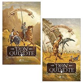 Combo Don Quixote - Nhà Quý Tộc Tài Ba Xứ Mancha - Tập 1 Và 2 (Bộ 2 Tập)