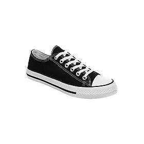 Giày Classic Nam Cổ Thấp Màu Đen Sp02 - Đen