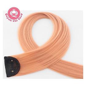 Tóc giả highlight GIÁ RẺ, tóc kẹp light nhiều màu dài 60cm, cá tính, phong cách sao Hàn Quốc