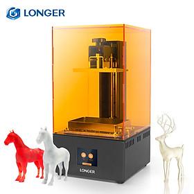 LONGER Orange 30 UV Photocuring 3D Printer Resin SLA Light Curing 3D Printer with 2K High Resolution LCD 2.8 Inch Color