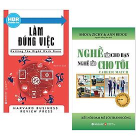 Combo Sách Tư Duy - Kỹ Năng Sống: HBR Guide To Làm Đúng Việc + Nghề Nào Cho Bạn Nghề Nào Cho Tôi - (Top Những Cuốn Sách Được Tìm Kiếm Nhiều Nhất / Tặng Kèm Bookmark Greenlife)