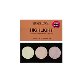 Highlight Makeup Revolution highlight powder palette (Dạng bảng)
