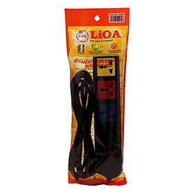 Ổ Cắm Điện 4 Ổ Đa Năng Có Nắp Che Lioa 4D32N (2200W)