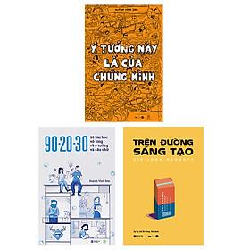 Combo 3 sách Sói Ăn Chay tuyển tập: Ý tưởng này là của chúng mình+90-20-30+Trên đường sáng tạo