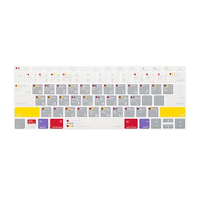 Phủ bàn phím JCPAL Verskin MacOS cho Macbook - Hàng Chính Hãng