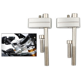 1Pair Motorcycles Handlebar Riser Bar Moves Up 20mm Fit for  R NINE T