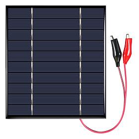 Tấm Năng Lượng Mặt Trời Có Kẹp Để Sạc Điện 2.5W 5V