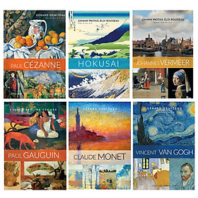 Bộ Danh Họa: Paul Cézanne+ Hokusai+ Claude Monet+ Paul Gauguin+ Vincent Van Gogh+ Johannes Vermeer