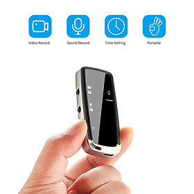 Máy ảnh nhỏ cầm tay Máy ghi âm video kỹ thuật số 480P Máy quay phim Giảm tiếng ồn cho bài giảng Lớp học Họp kinh doanh