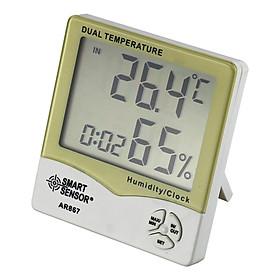 Máy Kĩ Thuật Số Đo Độ Ẩm AR867 LCD Trong Nhà Và Ngoài  Trời
